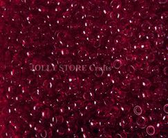 6.5x4mm Transparent Ruby Mini Pony Beads beads,beading,mini.small,pony beads,USA,American, made