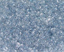 7x4mm Blue Glitter Mini Pony Beads beads,beading,mini.small,pony beads,USA,American, made