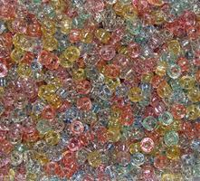 7x4mm Multi Glitter Mini Pony Beads beads,beading,mini.small,pony beads,USA,American, made