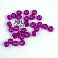 9x6mm Dark Amethyst Pony Beads 500pc kids,beads,crafts,pony beads