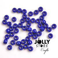 9x6mm Opaque Blue Pony Beads 500pc kids,beads,crafts,pony beads