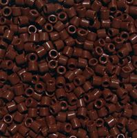 Brown Czech Glass Tile Beads 250pc.