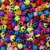 Colorful Skull Beads