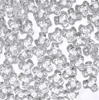 Crystal Clear Tri Beads 500pc crystal,clear,transparent,tri,beads,bead,craft