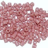 Pink Czech Glass Tile Beads 250pc.