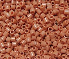Sienna Czech Glass Tile Beads 250pc.