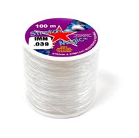 Stretch Magic Clear, 1mmx100M Spool stretch,magic,clear,string,cord,USA