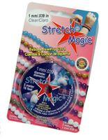 Stretch Magic Clear, 1mmx5M Spool stretch,magic,clear,string,cord,USA