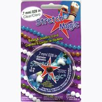 Stretch Magic Clear, .7mmx5M Spool stretch,magic,clear,string,cord,USA