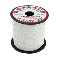 White Rexlace 100yds rexlace,plastic,lace,cord