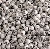Antiqued White Skull Beads
