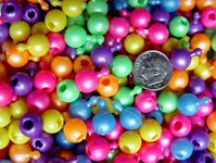 10mm Pop Beads, Pearl Multi Colors 144pc