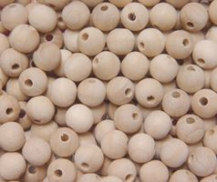 10mm Round Unfinished Wood Craft Beads 72pc wood,unfinished,craft,beads
