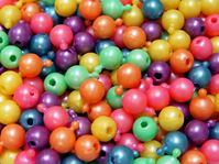 12mm Pop Beads, Pearl Multi Colors 144pc snap,pop,crafts,beads