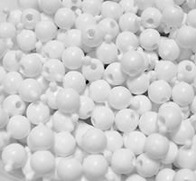 12mm Pop Beads, White 144pc snap,pop,crafts,beads