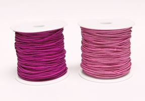 1mm Pink Elastic Cord string 21M/68ft Spool pink,elastic,string,cord,stretch. material