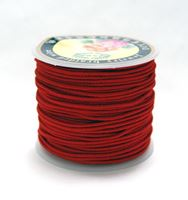 1mm Red Elastic Cord string 21M/68ft Spool red,elastic,string,cord,stretch. material