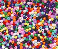 5x3mm Opaque Multi Colors Wee Beads 1900pc wee,beads,beading,mini.small,pony beads
