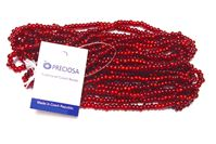 6/0 Silver Lined Ruby Czech Glass Seed Beads