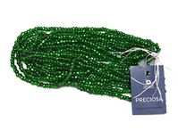 Silver Lined Green Preciosa Czech Glass Seed Beads size 6/0