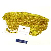 Silver Lined Yellow Jablonex Czech Glass Seed Beads size 6/0