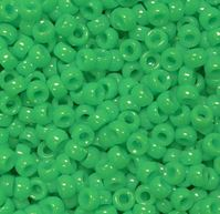 6.5x4mm Neon Grasshopper Green Mini Pony Beads beads,beading,mini.small,pony beads,USA,American, made
