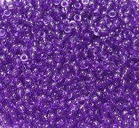 6.5x4mm Transparent Amethyst Mini Pony Beads beads,beading,mini.small,pony beads,USA,American, made