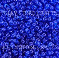 6.5x4mm Transparent Dark Sapphire Mini Pony Beads beads,beading,mini.small,pony beads,USA,American, made