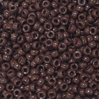 7x4mm Opaque Brown Mini Pony Beads beads,beading,mini.small,pony beads,USA,American, made