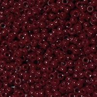 7x4mm Opaque Cranberry Mini Pony Beads beads,beading,mini.small,pony beads,USA,American, made
