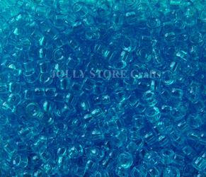 7x4mm Transparent Blue Turquoise Mini Pony Beads beads,beading,mini.small,pony beads,USA,American, made
