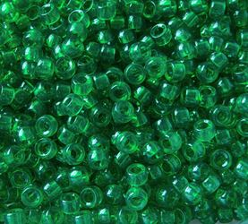 7x4mm Transparent Christmas Tree Green Mini Pony Beads beads,beading,mini.small,pony beads,USA,American, made