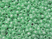 9x6mm Bright Green Pearl Pony Beads 500pc kids,beads,crafts,pony beads