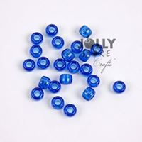 9x6mm Dark Sapphire Pony Beads 500pc kids,beads,crafts,pony beads