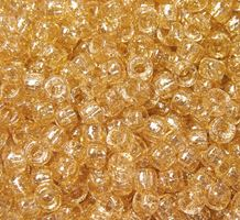 9x6mm Gold Glitter Pony Beads 500pc kids,beads,crafts,pony beads