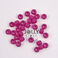 9x6mm Matte Burgundy Pony Beads 500pc kids,beads,crafts,pony beads