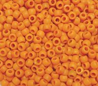 9x6mm Matte Butternut Pony Beads 500pc kids,beads,crafts,pony beads