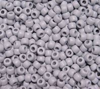 9x6mm Matte Gray Pony Beads 500pc kids,beads,crafts,pony beads