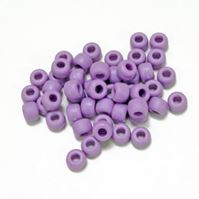 9x6mm Matte Lilac Pony Beads kids,beads,crafts,pony beads