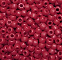 9x6mm Matte Red Pony Beads 500pc kids,beads,crafts,pony beads