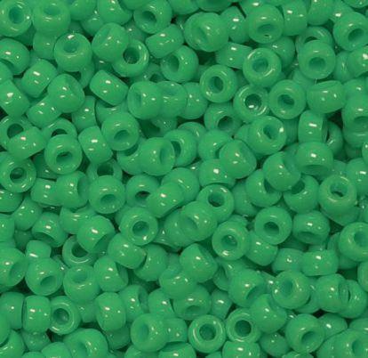 Light Turquoise 9x6mm USA made Pony Beads 500pc crafts kandi jewelry kids