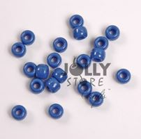 9x6mm Opaque Blue Haze Pony Beads 500pc kids,beads,crafts,pony beads