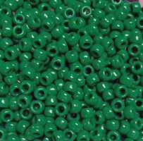 9x6mm Opaque Green Pony Beads 500pc kids,beads,crafts,pony beads