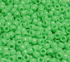 9x6mm Opaque Lime Pony Beads 500pc kids,beads,crafts,pony beads