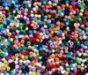 9x6mm Opaque Multi Colors Pony Beads 500pc