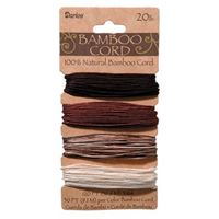Bamboo Cord Set - Earthy Colors 20lb  120ft bamboo,cord,twine,strings,crafts,beading