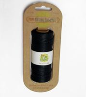 Black Hemp Cord 20lb. 197ft hemp,cord,twine,strings,crafts,beading