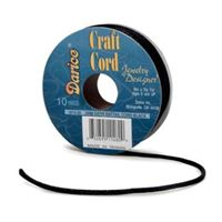 Black Satin Rattail 2mm x 10yds satin,rattail,string,cord
