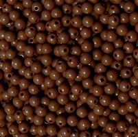 Brown 6mm Round Plastic Beads beads,crafts,plastic,acrylic,round,colors,beading,stores