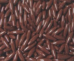 Brown Spaghetti Craft Beads 200pc spaghetti,crafts,beads,USA